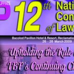 Bacolod City to Host 12th IBP National Convention