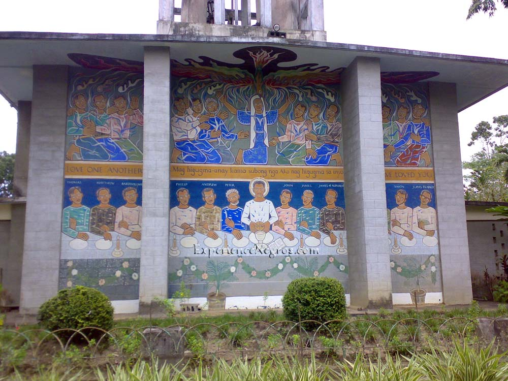 Church of Angry Christ Back Mural