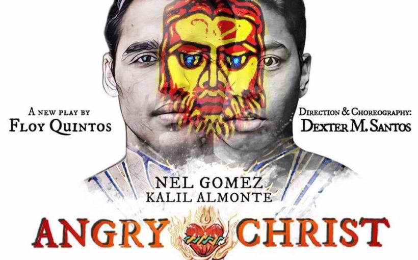 Angry Christ Poster