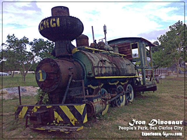 San Carlos Milling Company Iron Dinosaur