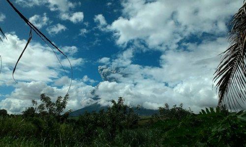 Kanlaon Volcano Spews Ash