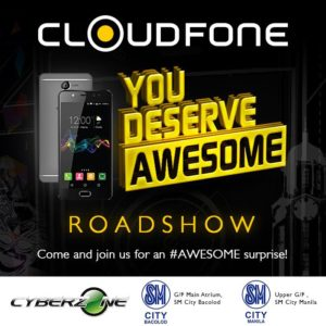 Cloudfone Heads to SM City Bacolod