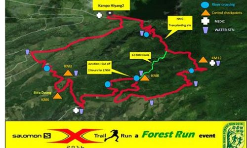 Salomon X-Trail 2016 Bacolod Leg: A Forest Run to Plant More Trees