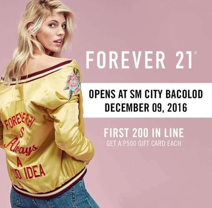 forever21 bacolod