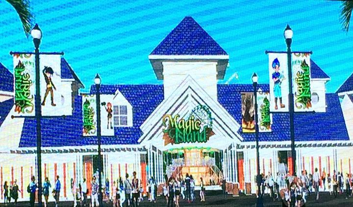 magic island theme park