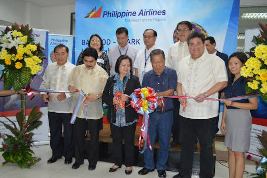 pal bacolod clark inaugural flight