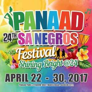 Panaad sa Negros Festival 2017 Schedule of Activities