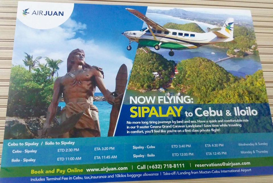 airjuan sipalay flights