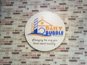 Daily Bubble Laundry Now Open at The District
