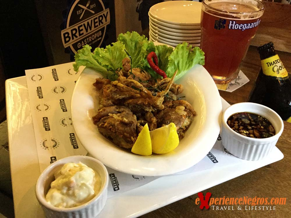 brewery - beer battered soft shell crab